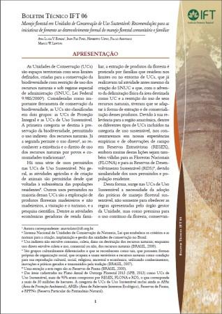 Boletim Técnico IFT 06