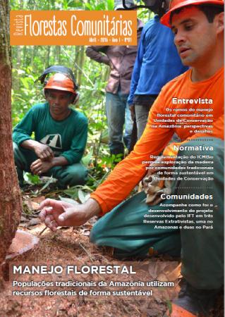 Capa Revista Florestas Comunitárias