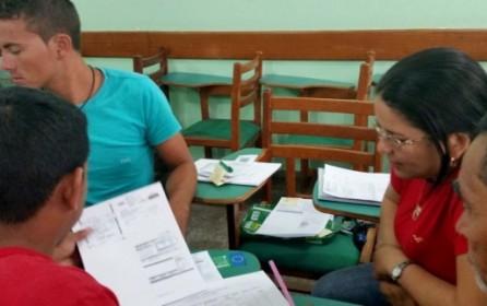 (Português do Brasil) Fortalecimento da organização social para o manejo florestal é tema de oficina em Lábrea (AM)