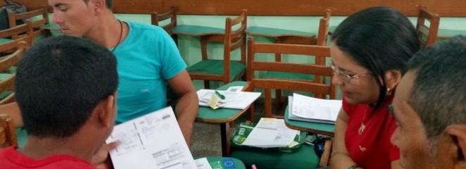 Fortalecimento da organização social para o manejo florestal é tema de oficina em Lábrea (AM)