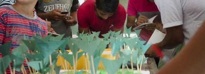 (Português do Brasil) IFT entrega Estudo de Viabilidade Econômica da cadeia do Açaí para comunidade Itapéua