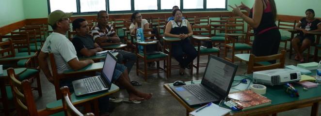 Oficinas fortalecem competências organizacionais na Resex Ituxi (AM)