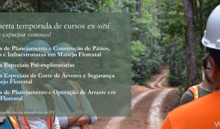 (Português do Brasil) IFT abre temporada de cursos ex-situ