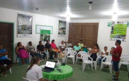 (Português do Brasil) Planejamento das atividades florestais em Porto de Moz reúne comunidades e corpo técnico do IFT
