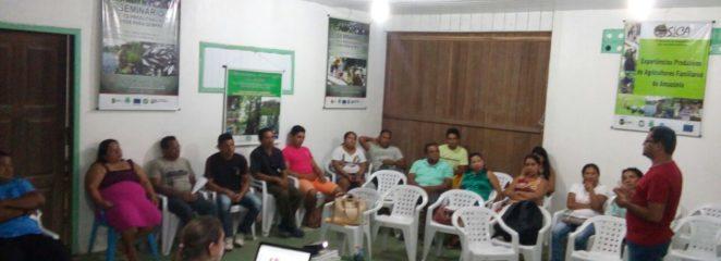 Planejamento das atividades florestais em Porto de Moz reúne comunidades e corpo técnico do IFT