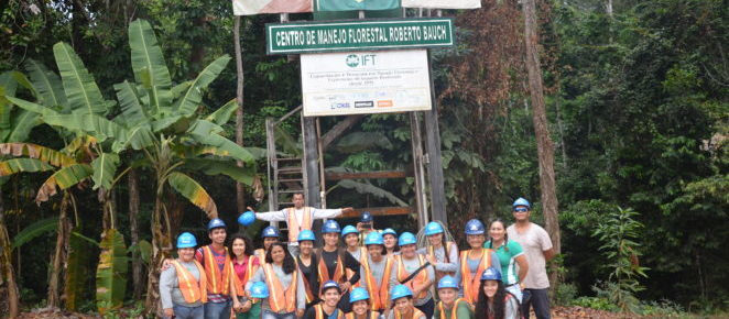 (Português do Brasil) Alunos do curso técnico em Florestas do IFAM participam de curso no IFT