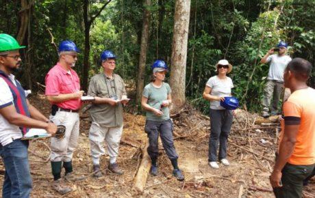 Projetos de manejo florestal na Resex Verde para Sempre recebem visita de parceiros