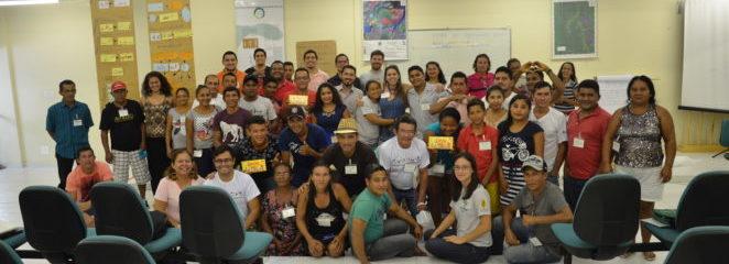 (Português do Brasil) Oficina em Breves reúne agroextrativistas de três Unidades de Conservação do Marajó