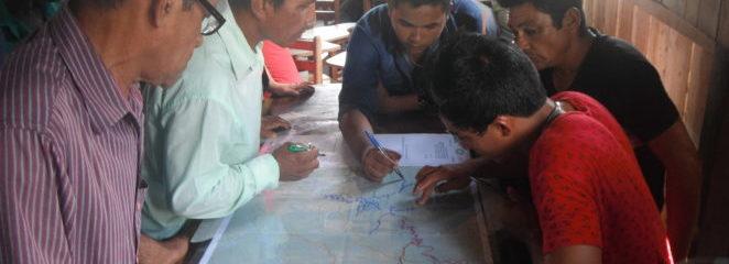 Produtores agroextrativistas da Resex Ituxi (AM) realizam levantamento de castanhais