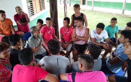 Curso de manejo de açaizal nativo movimento Resex Mapuá
