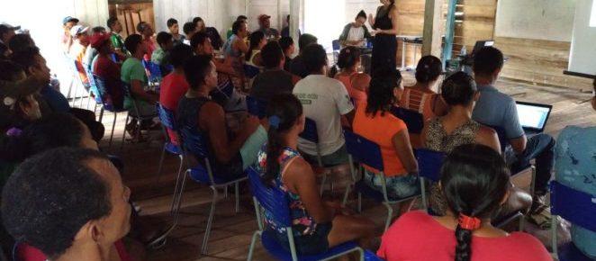 (Português do Brasil) Projeto Florestas Comunitárias movimenta Unidades de Conservação no Marajó
