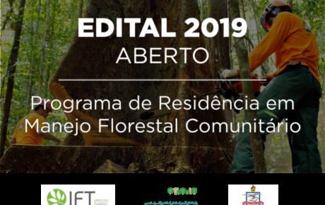 (Português do Brasil) Programa de Residência em Manejo Florestal Comunitário abre edital para seleção de participantes