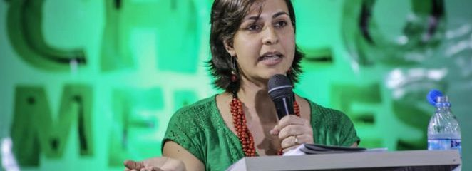 (Português do Brasil) No Encontro Chico Mendes 30 Anos, IFT participa de painel sobre gênero e cadeias de valor da floresta