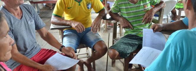 Polo Aramã, na Resex Mapuá, avança na construção do Plano de Manejo Florestal Sustentável